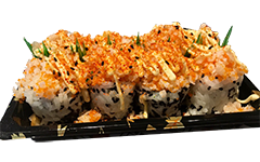 Foto Spicy Crunch ebi roll