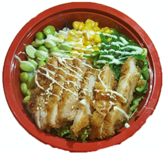 Foto Chicken Poke Bowl